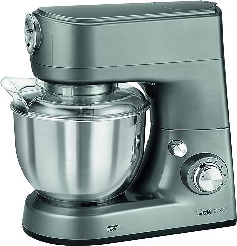 Clatronic KM 3648 Robot de Cocina multifunción amasadora, picadora de Carne, batidora Vaso,