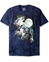 The Mountain Three Wolf Moon Short Sleeve Tee