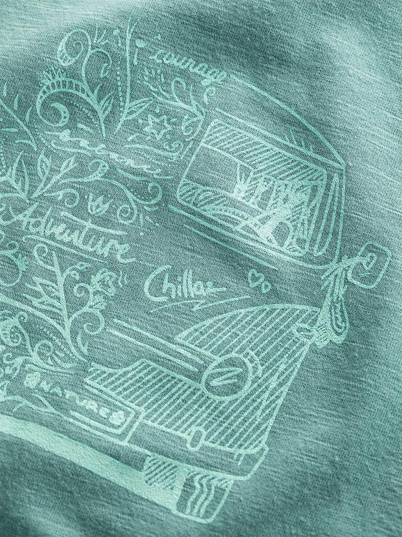 Chillaz Damen Gandia Lettering Bus t-Shirt Funktionsshirt neu