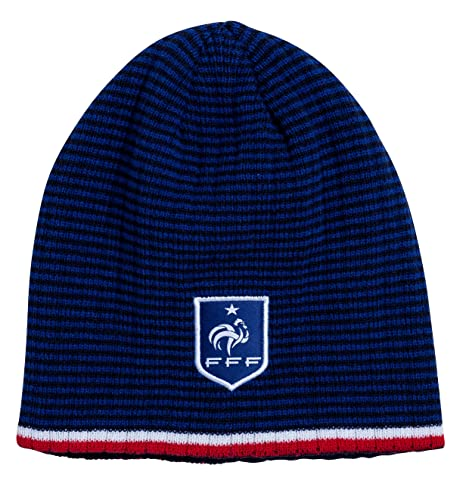 539bee316d0 Equipe de FRANCE de football Bonnet FFF - Collection Officielle Taille Homme