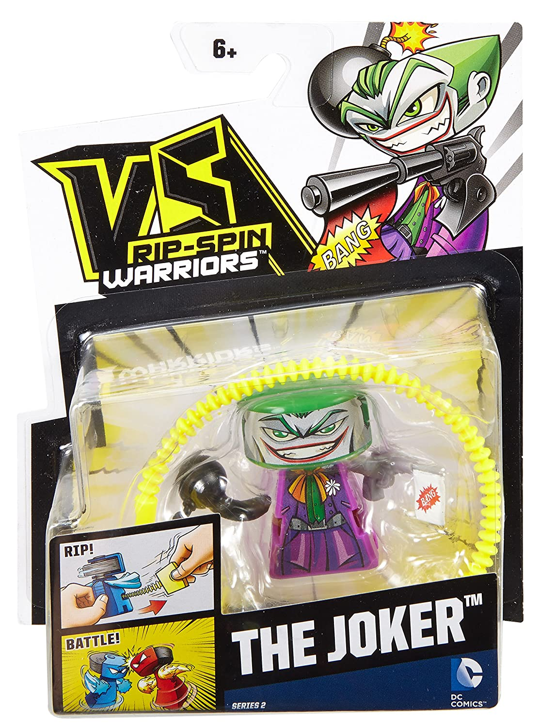 Mattel VS Rip-Spin Warriors The Joker Warrior DRH91
