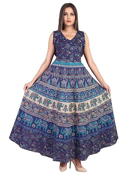 96c9554ea33 Dhruvi Casual Wear Indigo Color