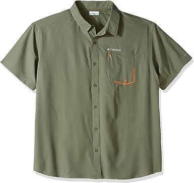 Columbia Tweested Creek Camisa para Hombre de Manga Corta: Amazon.es: Ropa y accesorios