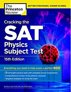 Amazon cracking the sat math 2 subject test college test cracking the sat physics subject test 15th edition college test preparation fandeluxe Image collections