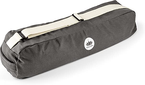 Lotuscrafts Yoga Mat Bag Pune - Fair & Ecological - Yoga Bag Made of 100% Organic Cotton - Yoga Bag for Yoga Mat - Yoga Mat Cover - Yoga Mat Carrier ...