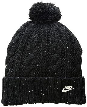 Nike W NSW Beanie Blackcool Greymetallic Silve