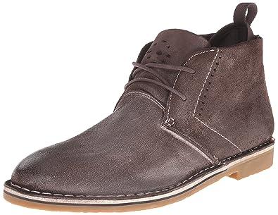 Steve Madden Men's Syrio Chukka Boot, Brown Suede, ...