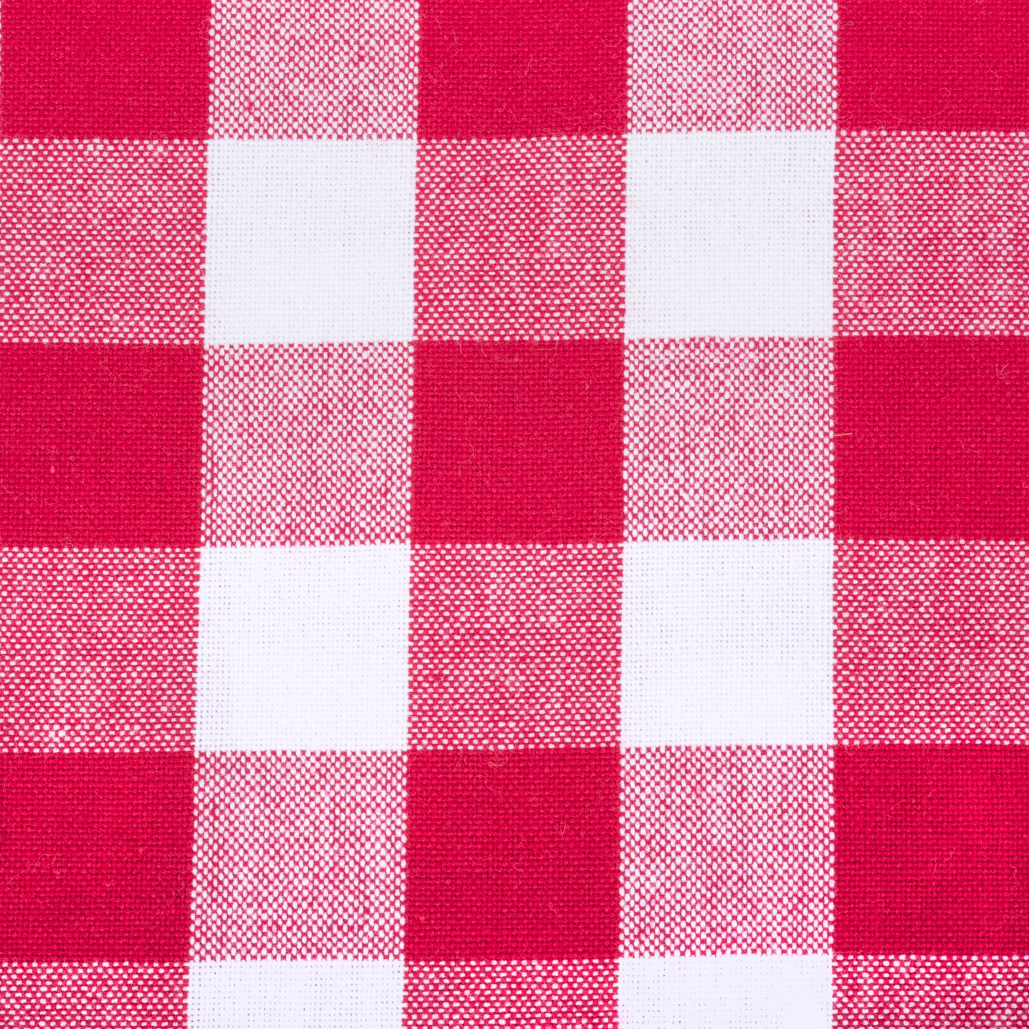 DII Oversized 20x20 Cotton Napkin, Pack of 6, Red & White Check - Perfect for Fall, Thanksgiving, Farmhouse DÃcor, Christmas, Picnics & Potlucks or Everyday Use by DII (Image #3)