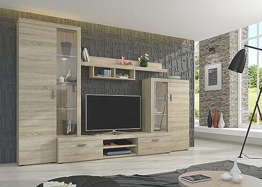 Nina, set di mobili da soggiorno moderni, dispositivo ...