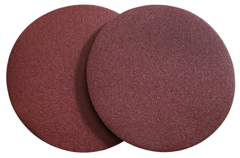 Woodstock D1324 9-Inch Diameter PSA Aluminum Oxide Sanding Disc, 120 Grit, 2-Pack