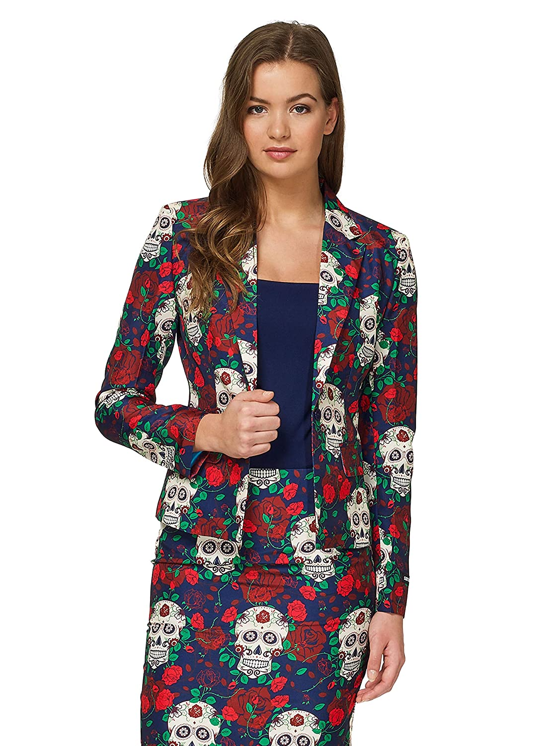 Day of the Dead Suitmeister Fun Suits  Includes Jacket, Pants & Tie