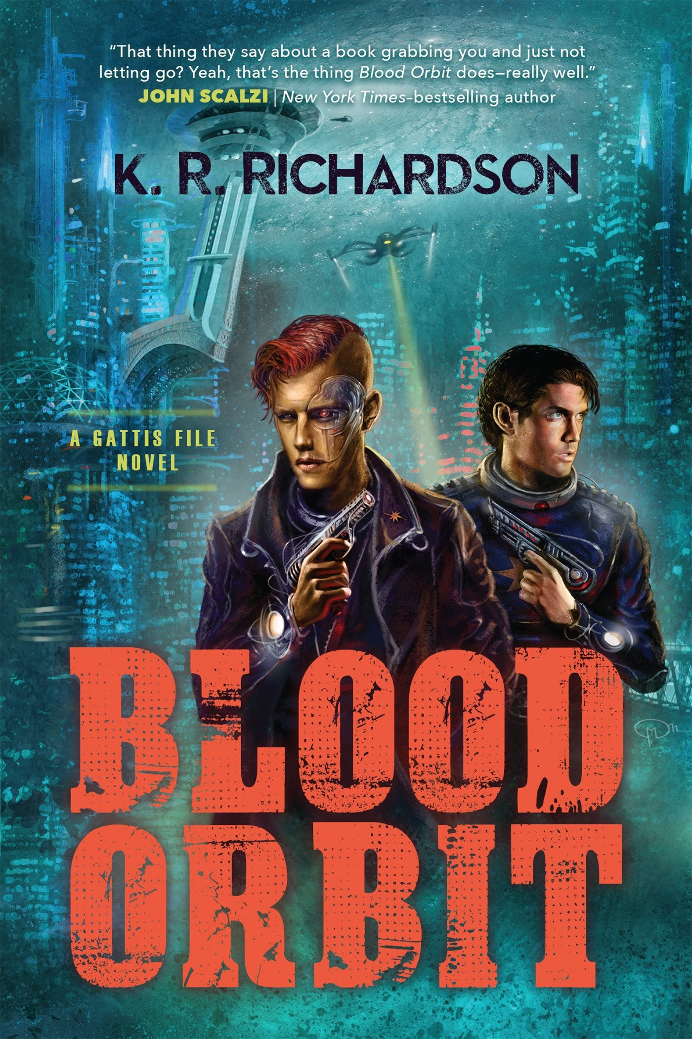 K.R. Richardson: Five Things I Learned Writing Blood Orbit