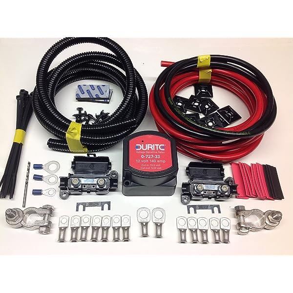 12V 140amp M-Power Intelligent Voltage sense Split Charge Relay