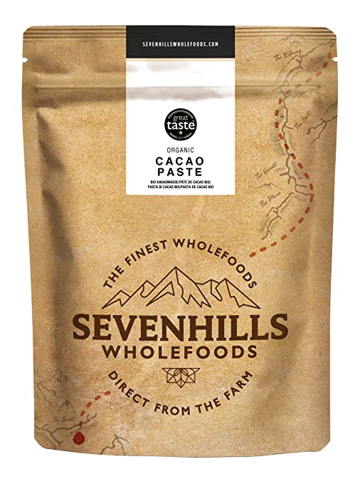 Sevenhills Wholefoods Pasta De Cacao (Licor, Masa) Orgánico, Obleas, 1kg
