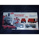 """Bachmann Industries Thomas & Friends - James The Red Engine with Moving Eyes - Large """"G"""" Scale Locomotive"""