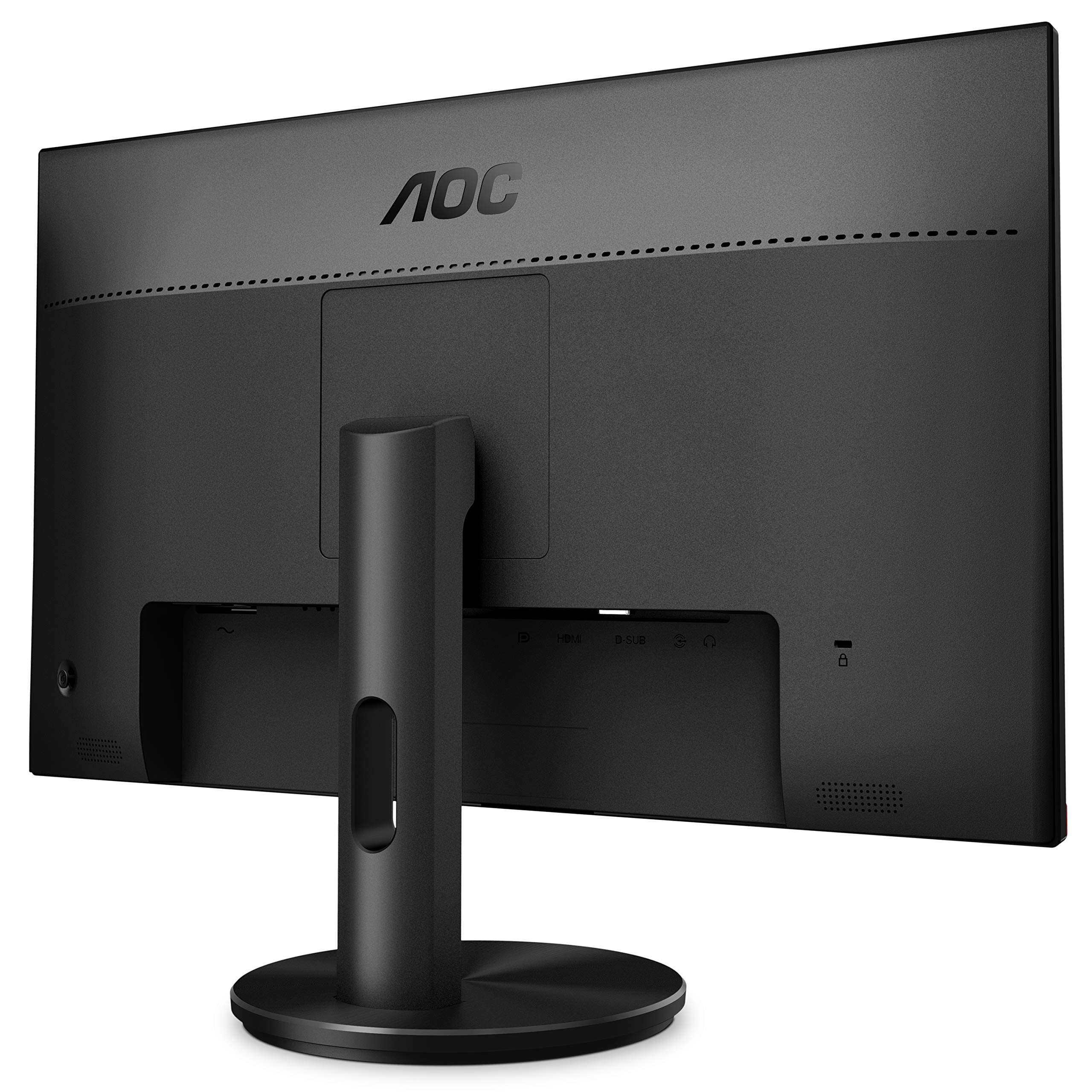 AOC G2590FX 25'' Framless Gaming Monitor, FHD 1920x1080, 1ms, 144Hz, G-SYNC Compatible+AdaptiveSync, 96% sRGB, DisplayPort/HDMI/VGA, VESA, 25 inch, Black / Red by AOC (Image #2)
