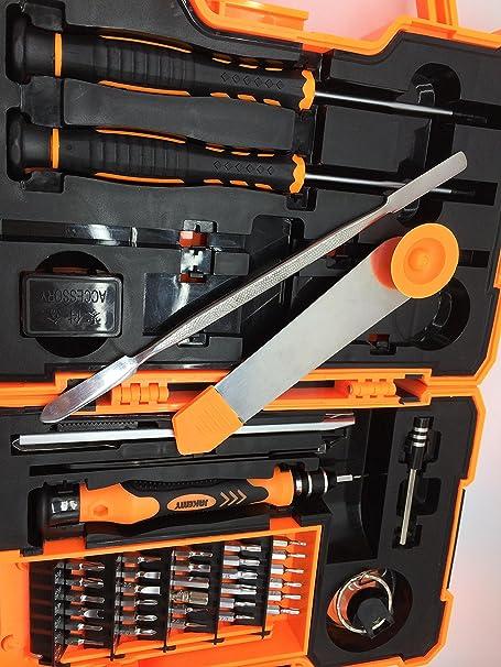 JM 8139, New 45 en 1 tournevis de pr¨¦cision Torx Kit de r¨¦paration Outils d'ouverture pour les t¨¦l¨¦phones portables ordinateurs portables tables