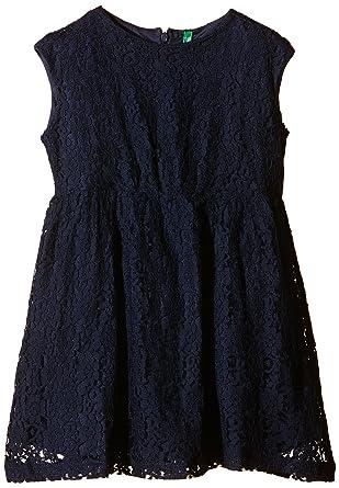 d04c413936b3 United Colors of Benetton Girl s 4PN85V6B0 Lace Dress