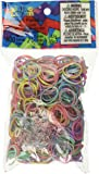 Rainbow Loom Pastel Rubber Bands with 24 C-Clips (600 Count)