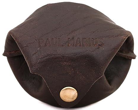LESCARCELLE INDUS cartera de cuero, monedero estilo vintage PAUL MARIUS Vintage & Retro