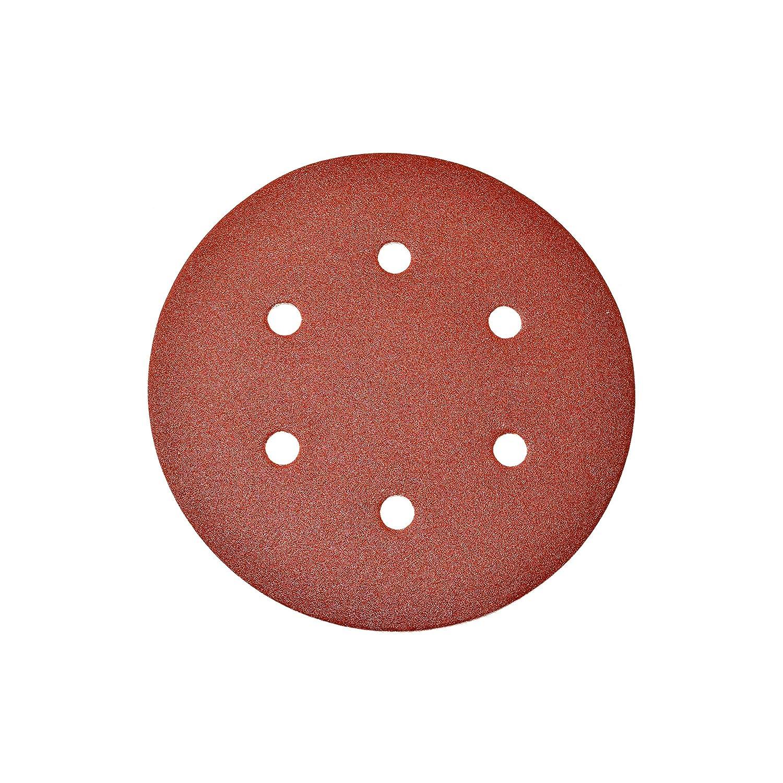 "ALEKO 120 Grit 10 Holes Sanding Discs Paper 9/"" For Drywall Sander Lot of 10"