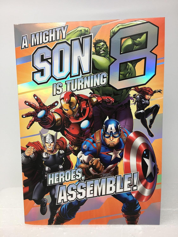 Hijo edad 8 Cumpleaños de los Vengadores Heroes Assemble ...