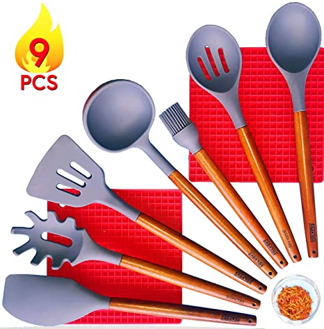 Baking Mixing 3/6 Pcs Heat-Resistant Spatula Kitchen Utensils Set for Cooking