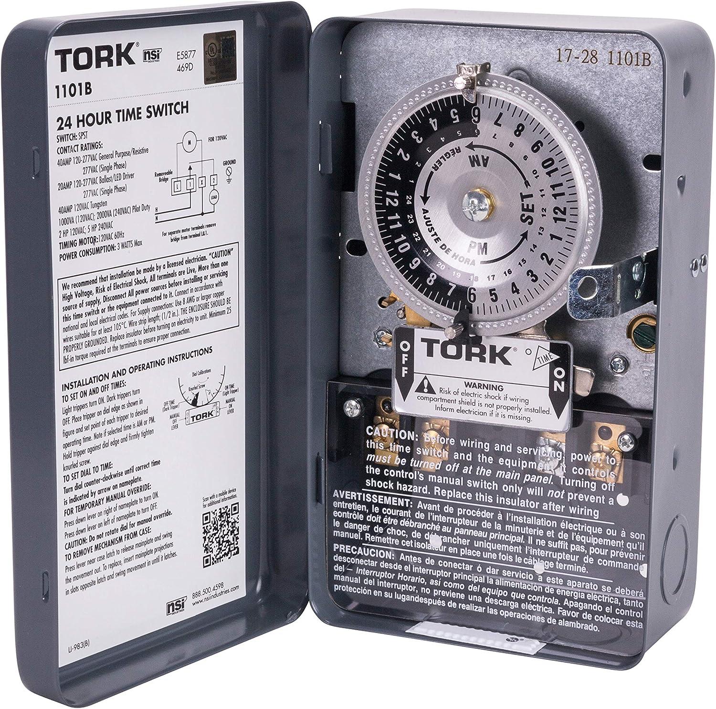 NSi 1101B ELECTROMECHANICAL TIME SWITCH, Gray