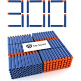 Ray Squad Soft Darts for Nerf N-Strike Elite Series Blasters, 300-Pieces (300 Darts, Blue) by Ray Squad