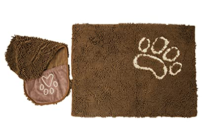 Amazon.com: Ultra Soft Dog Shammy Bathing Towel and Mat, 10X More ...