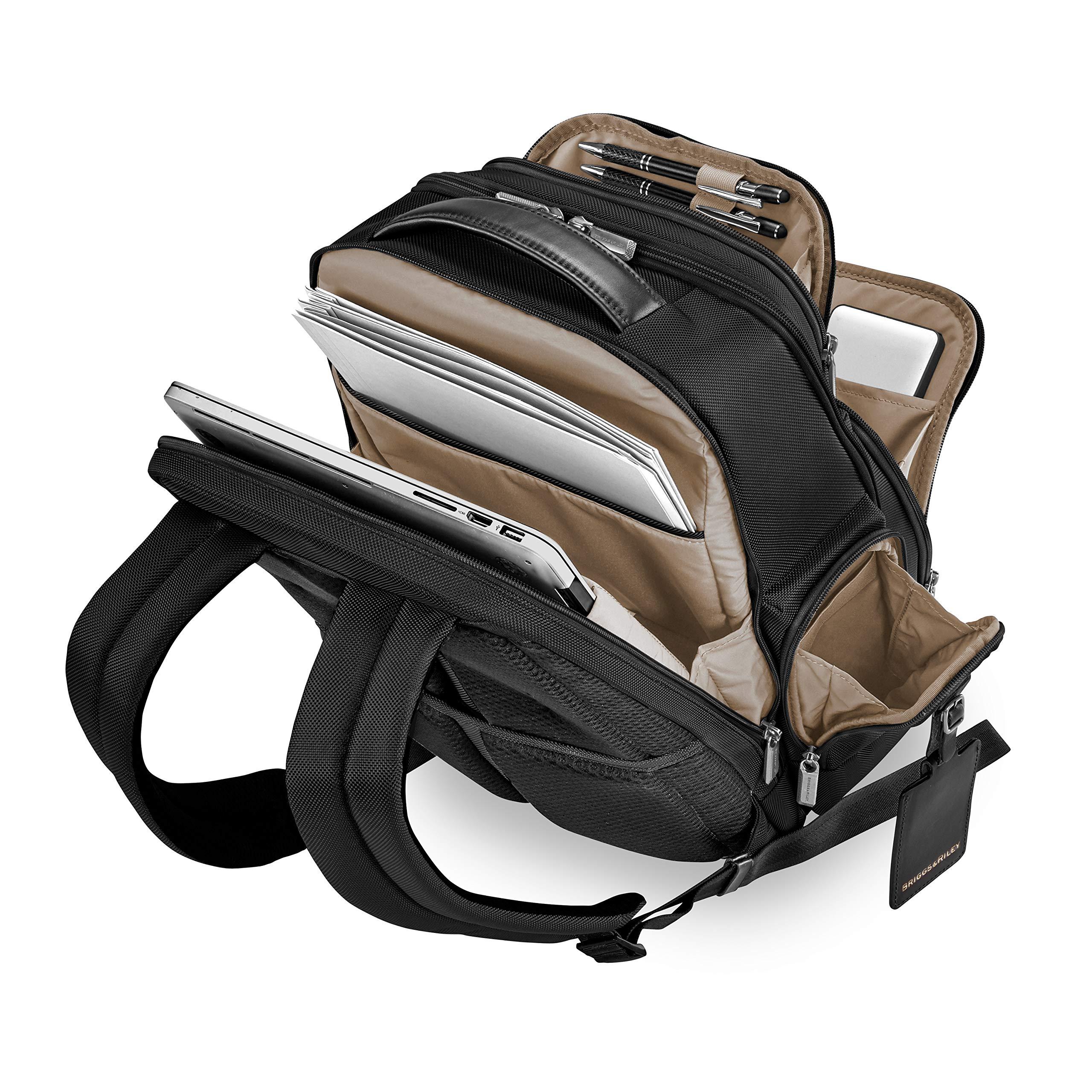 Briggs & Riley @work Medium Cargo Backpack, Black by Briggs & Riley (Image #6)