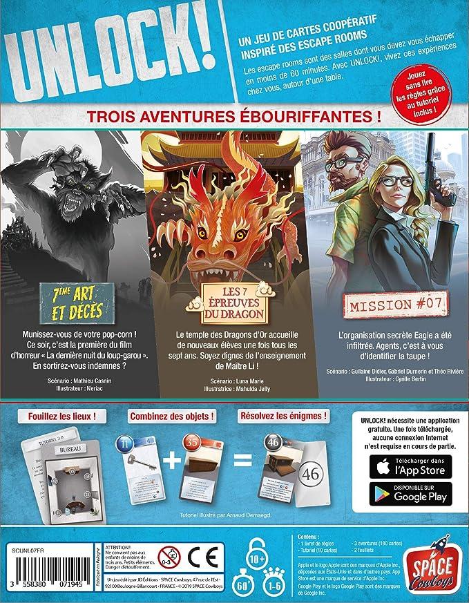 Asmodée - Unlock! Epic Adventures Version Francaise ...