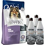 Happy Dog Mini Senior 4 kg + 4 x TJURE Kleiner Racker