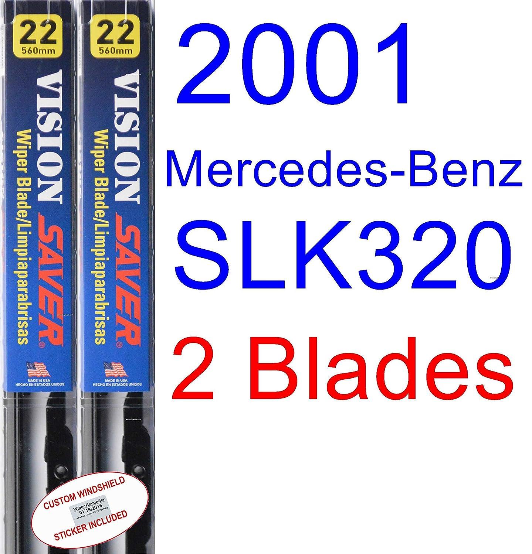 Amazon.com: 2001 Mercedes-Benz SLK320 Wiper Blade (Driver) (Saver Automotive Products-Vision Saver): Automotive
