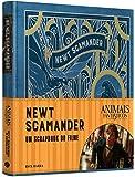 Animais Fantásticos e Onde Habitam. Newt Scamander. O Scrapbook do Filme