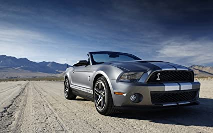 91 Mustang Gt >> Amazon Com Ford Shelby Mustang Gt 500 18x24 Poster Posters Prints