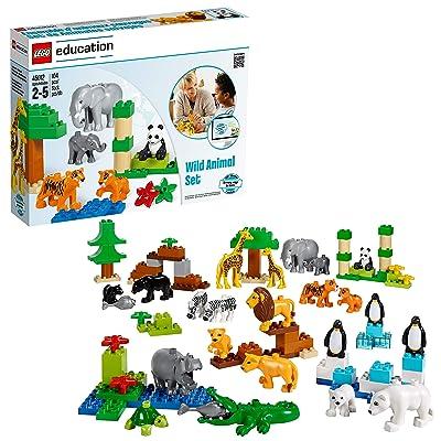 Wild Animals Set for Understanding Animal Habitats by LEGO Education DUPLO: Toys & Games