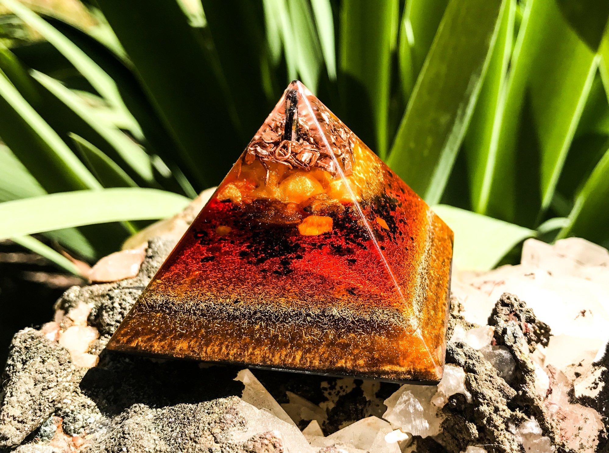 Ground and Protect Orgonite Pyramid | Best Orgone Pyramids