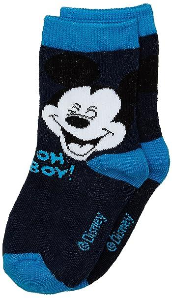 Disney Calcetines Mickey, Niños, Azul, 23/26: Amazon.es: Ropa y accesorios