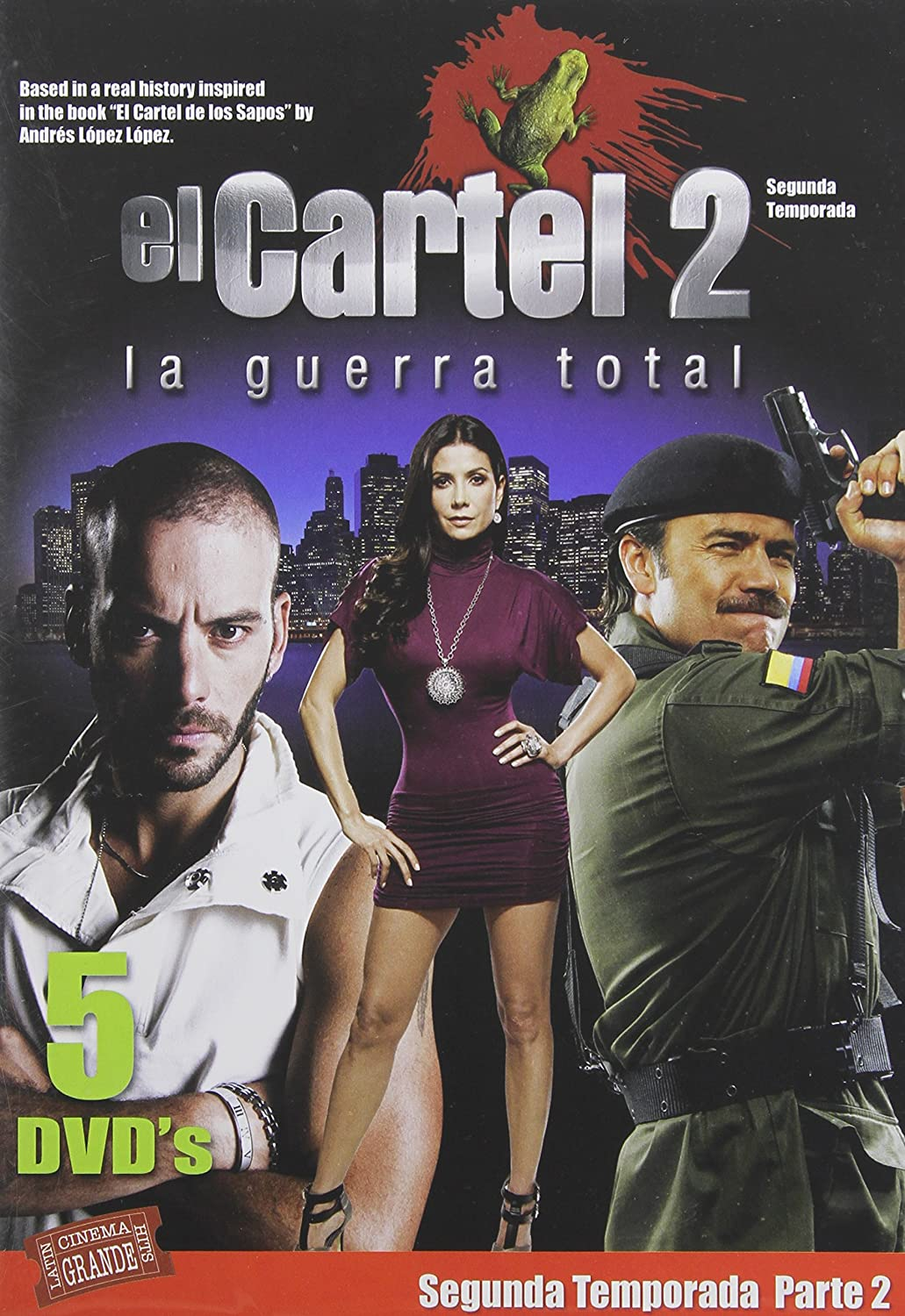 Cartel-Season 2 Pt 2: Guerra Total Reino Unido DVD: Amazon ...