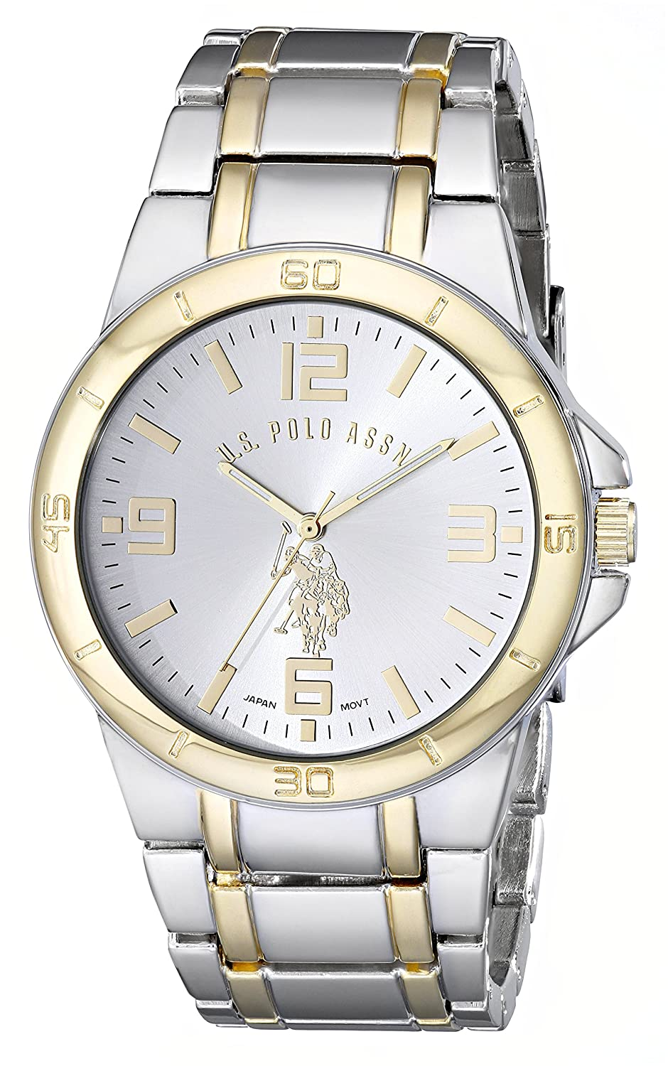Buy U.S. Polo Assn. Classic Men's USC2254 Set of Two Two-Tone Watches Online at Low Prices in India - Amazon.in