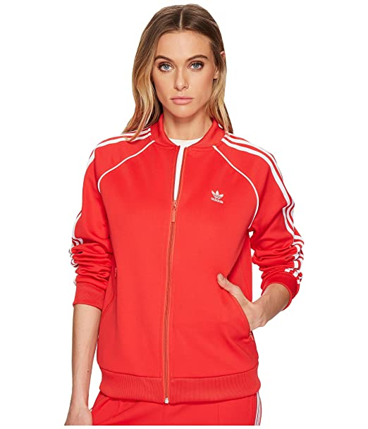 adidas Originals Damen Superstar Tracktop Jacke: