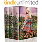Fiery Brides For Vulnerable Ranchers: A Clean Western Historical Romance Collection