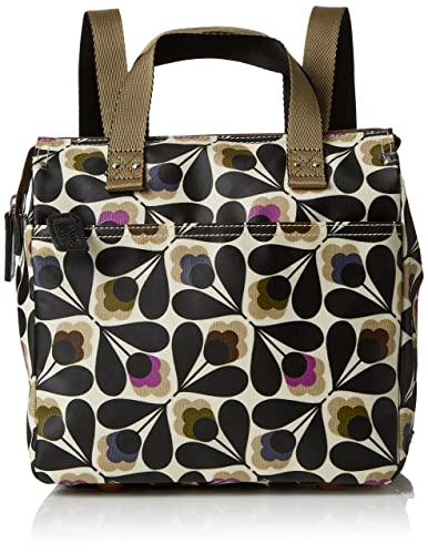 079ac4d87f25 Orla Kiely Women s Matt Laminated Sycamore Seed Print Small Backpack  Shoulder Handbag