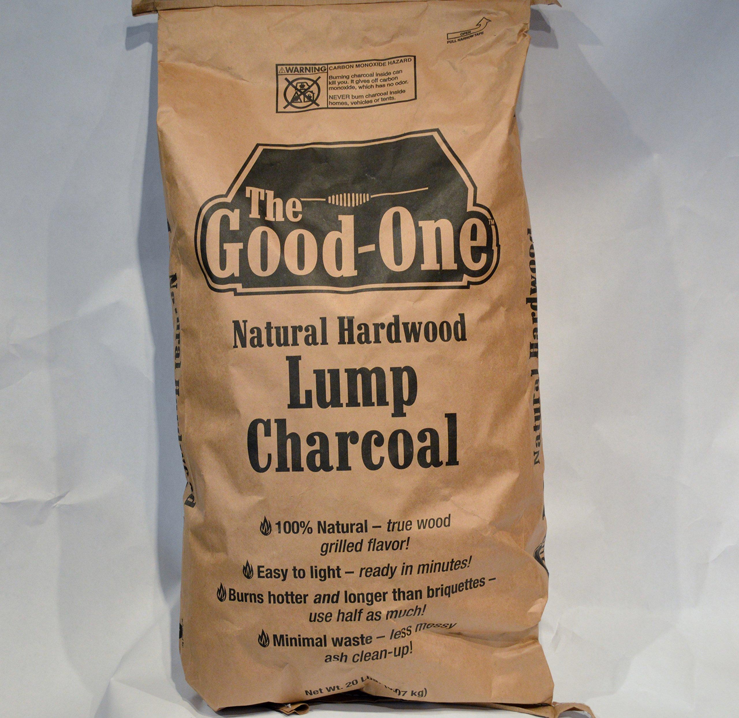 The Good-One Lump Charcoal - 20 LB Bag Hardwood Lump Charcoal-Pallet of 30 bags