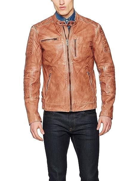 Pepe Jeans Howard, Chaqueta para Hombre, Marrón (Tan) Large