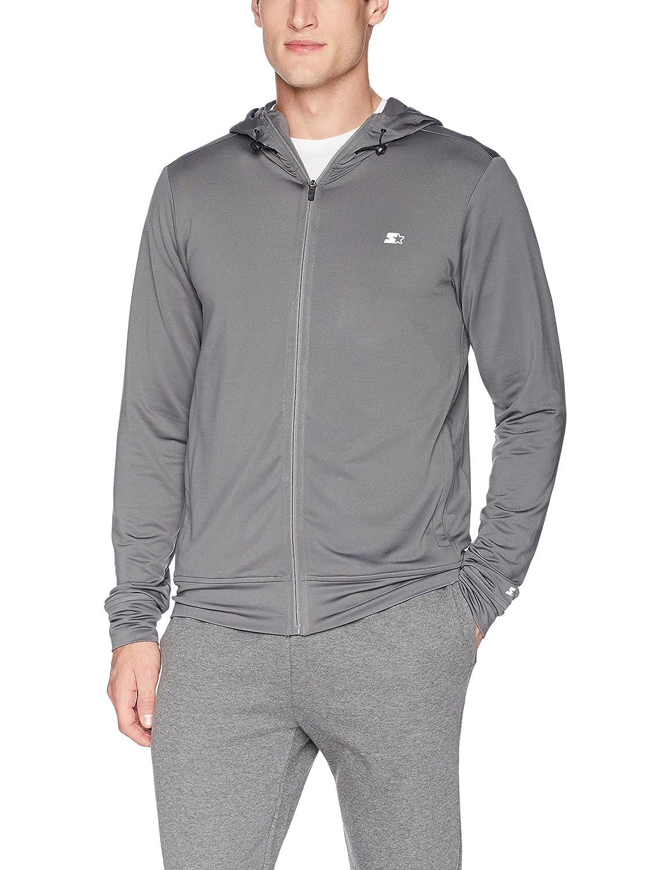 Starter Men's Lightweight Run Jacket with Hood, Amazon Exclusive S18SMT19