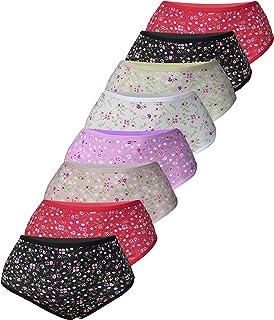 4df62303a35dc7 PiriModa 8er Pack Damen Baumwolle Übergröße Unterhosen Gr. 52-62 4XL ...