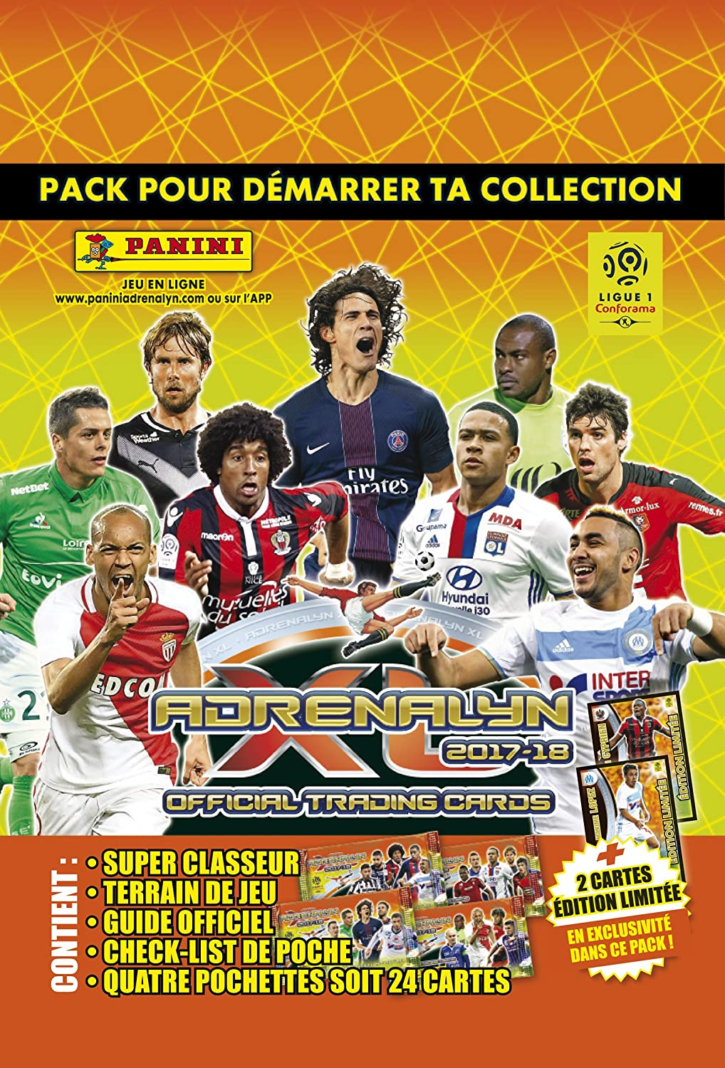Panini 2320 – 015 Foot Adrenalyn Starter Pack: Amazon.es: Juguetes ...
