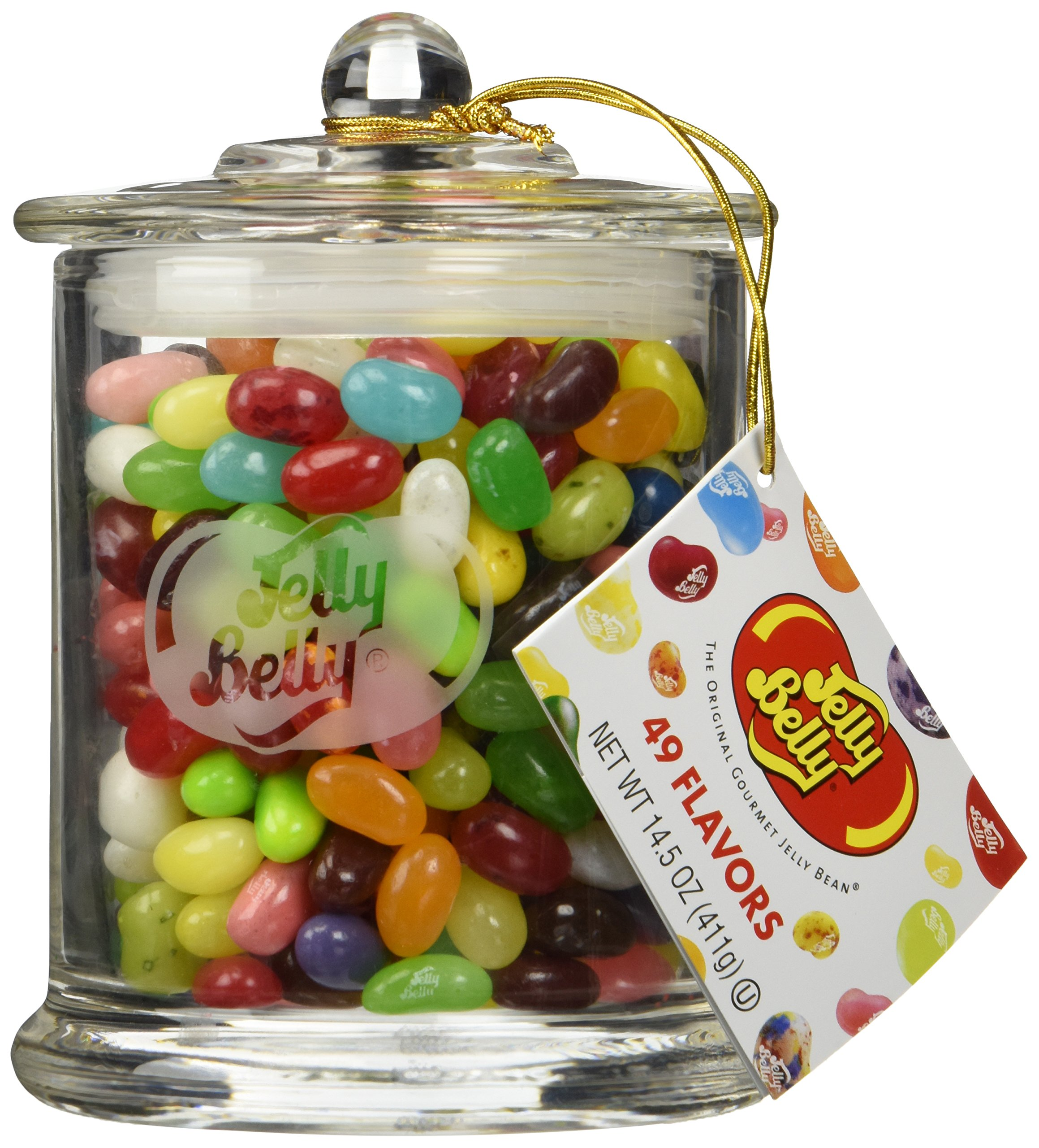 Jelly Belly Classic Glass Jar, 14.5oz